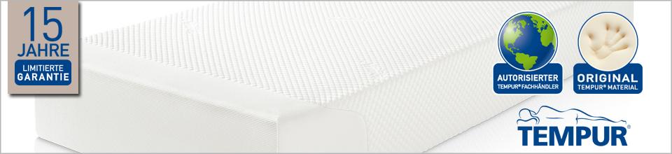 der gro e tempur store im internet tempur matratzen online kaufen. Black Bedroom Furniture Sets. Home Design Ideas